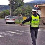 Velice slušná policejní kontrola brzy po ránu